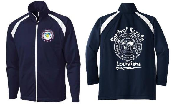 (Please Note: Jacket shown with OPTIONAL ITF patch. Patches may be purchased from the school for $10)