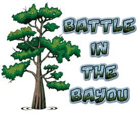 Battle in the Bayou Logo PNG